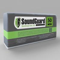 Звукопоглощающая плита SoundGuard Basalt ЭкоАккустик 30 1250x600x50мм 0,15м3/3м2 ; 3,06 кг (4шт/уп)