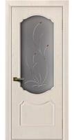 Дверь  Богема жемчуг тон 27 стекло Ковыль