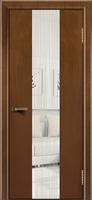 Дверь Камелия К 4 американский орех тон 23 стекло Водопад
