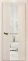Дверь модель Камелия К4 Ясень жемчуг тон 27 стекло водопад