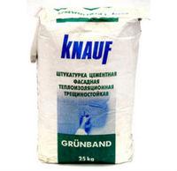 Knauf Grunband Штукатурка цементная теплоизоляционная (25 кг)