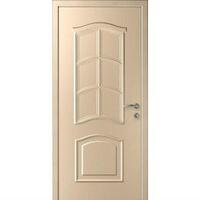 """Интех Пласт дверь """"Капель"""" Лилия (цвет дуб белёный)"""