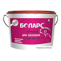 Боларс краска для потолков белая матовая (3 кг)