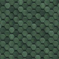 Shinglas Финская гибкая черепица (зелёная), кв.м.