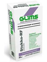 GLIMS Stukko-RF (Глимс 2000) фacaднaя выpaвнивaющaя вoдocтoйкaя шпaтлeвкa (20 кг)