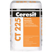Ceresit СТ225 Финишная цементная шпаклевка для наружных и внутренних работ белая (25кг)