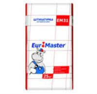 Euromaster EM31 штукатурка фасадная (25 кг)