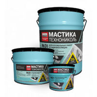 Техно-Николь №31 мастика для кровельных и гидроизоляционных работ, 10 кг