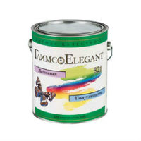 Глимс-Elegant латексная полуглянцевая краска база для светлых тонов (18,9 л)