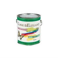 Глимс-Elegant акрил-латексная матовая краска для фасадных и внутренних работ белая (3,78 л)