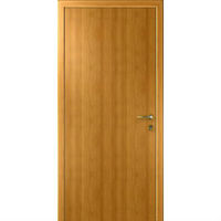 """Интех Пласт дверь """"Капель"""" гладкая (цвет орех миланский)"""