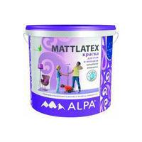 ALPA Латексная краска для стен и потолков MATTLATEX (10 л)