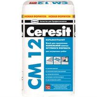 Клей CM 12 для крепления напольной плитки крупного формата