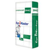 Euromaster ЕМ42 плиточный супер клей для внутренних и наружных работ (25 кг)