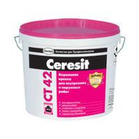 Акриловая краска Ceresit CT 42 для наружных и внутренних работ база (15 л)