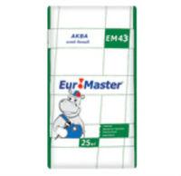 Euromaster Аква ЕМ43 Плиточный клей белый для внутренних и наружных работ (25 кг)