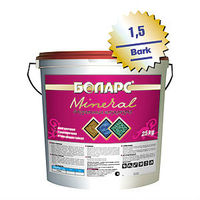 Боларс декоративная штукатурка Mineral Bark с зерном 3,5 мм (45 кг)