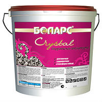 Боларс декоративная штукатурка Crystal с зерном 1,5 мм (45 кг)