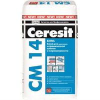 Клей Ceresit CМ 14 Extra для керамической плитки и керамогранита