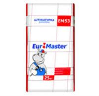 "Euromaster EM53 штукатурка декоративная ""Шуба"" (25 кг)"