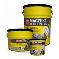 Техно-Николь №57 мастика защитная алюминиевая, 10 кг