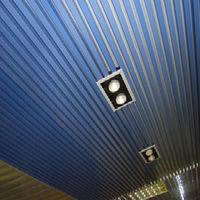 Албес реечный потолок кубообразной рейки, кв.м
