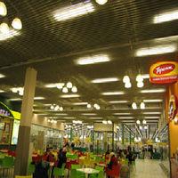 Албес реечный потолок пластинообразной рейки, кв.м