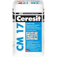 Высокоэластичный клей Ceresit СМ 17 для плитки для наружных и внутренних работ