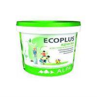 ALPA ECO Гипоаллергенная латексная краска для стен и потолков ECOPLUS  (10 л)