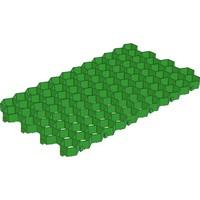 Решётка газонная Gidrolica® Eco Standart РГ-70.40.3,2 пластиковая зелёная