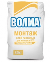 Волма Монтаж клей гипсовый для монтажа ПГП (30 кг)