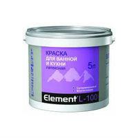 ALPA Латексная краска для ванной и кухни Element L-100 (2 л)