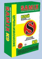 Клей Самикс плиточный К-9 (25 кг)