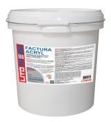 Фасадная штукатурка LITOTHERM Factura Acryl 1.5(белая)