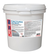 Фасадная штукатурка LITOTHERM Factura Acryl 2.0 (белая)