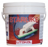 Затирка LITOCHROM STARLIKE белая (5кг)