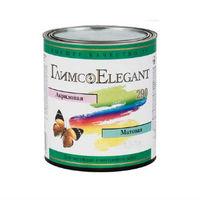 Глимс-Elegant акриловая матовая краска для фасадных и внутренних работ белая (18,9 л)