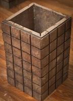 "Блок колонны ""Геометрия"" 300х500(Серо-зелёный)"