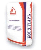 Богатырь Б-317 Шпатлевка для ячеистого бетона белая (20 кг)