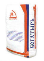 Богатырь цементно-песчаная смесь М-150 (50 кг)