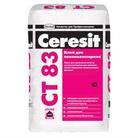 Клеевая смесь Ceresit CT 83 для крепления плит из пенополистирола (25 кг)
