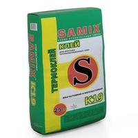 Клей для мин.ваты, пенополистерола и армирования Самикс К-19 (25 кг)