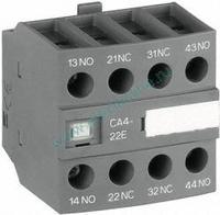 Блок контактный доп. CA4-22E (2НО+2НЗ) для AF09-38