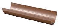 Желоб ПВХ ТН 3м D125/80 круглого сечения (цвет белый и коричневый)