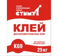 Стимул-К-69 клей для керамогранитных плит (25 кг)