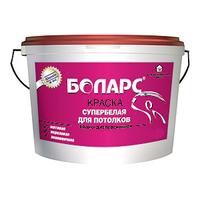Боларс краска супербелая для потолков матовая (15 кг)