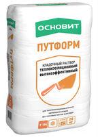 Основит Путформ Т-114 кладочный раствор теплоизоляционный высокоэффективный (20 кг)