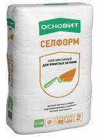 Основит Селформ Т-112 клей монтжаный для ячеистых бетонов (20 кг)