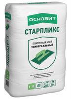 Основит Стартликс Т-11 клей универсальный для керамической плитики и керамогранита на пол и стены (25 кг)