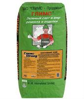 GLIMS StrongFix усиленный мoнтaжный фacaдный клeй для oблицoвoчныx плит (25 кг)